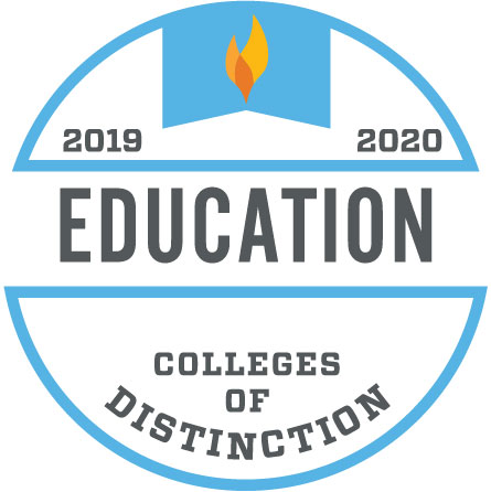 Colleges of Distinction: Education 2019-2020