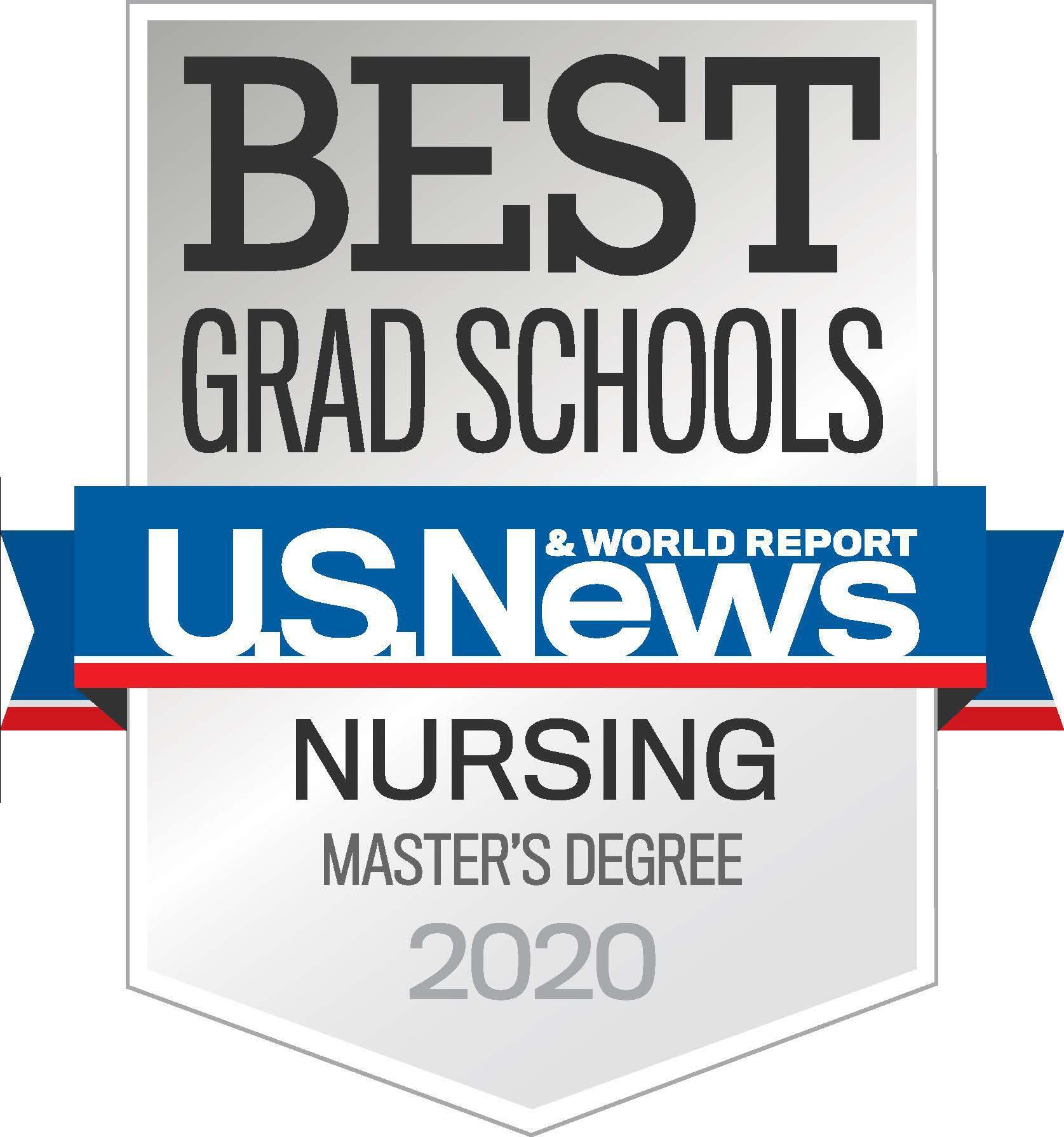 Best Grad Schools - US News & World Report - Nursing Master's Degree 2020